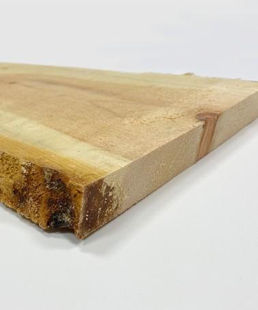 Zirbenholzbrett Blockware 27mm stark sägerau