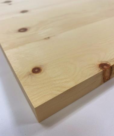 Zirbenholz geleimt 24mm Leimholz