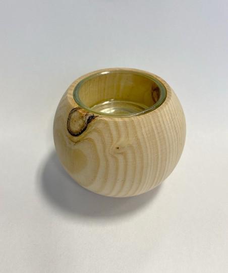 Zirben Teelicht